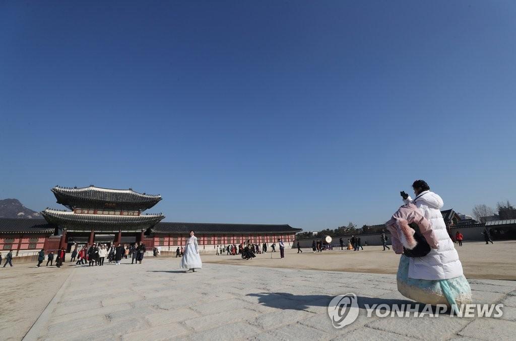 韩国春节假期免费开放古宫王陵等文化古迹