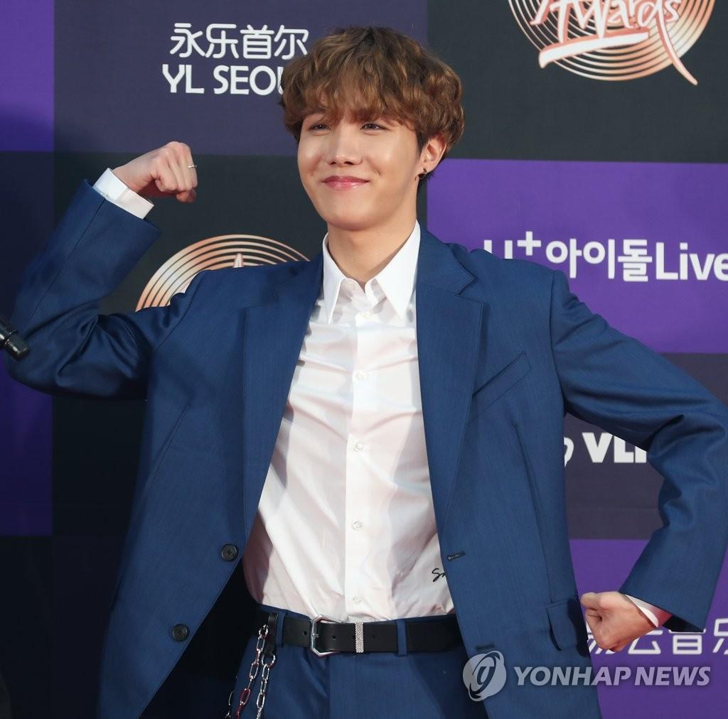 防弹j-hope单曲MV播放量破两亿