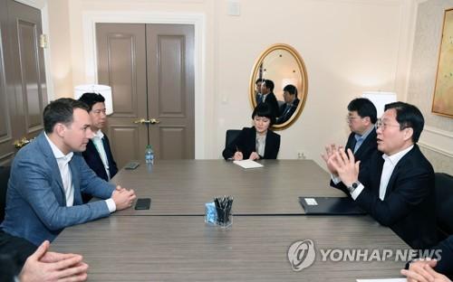 韩国产业部长官会见优步飞行业务部门负责人
