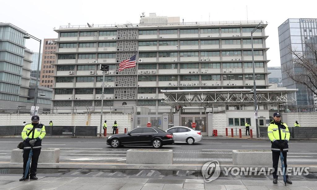 美国驻韩大使馆明起暂停办理签证