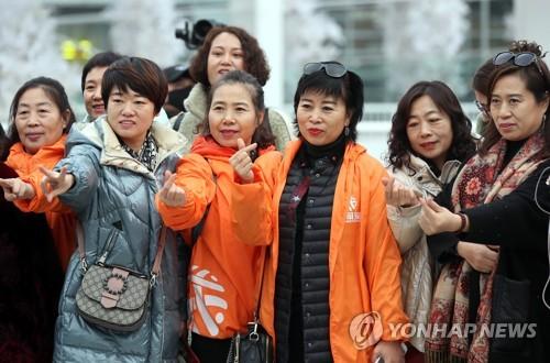3500名中国中小学生寒假来韩游学