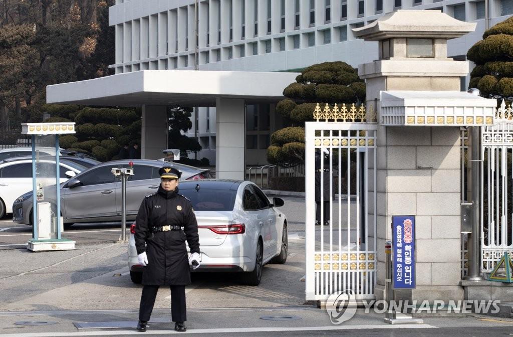 韩青瓦台就检方搜查总统秘书办公室表遗憾