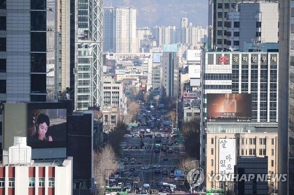 统计:韩首都圈各行业总产出占全国近一半