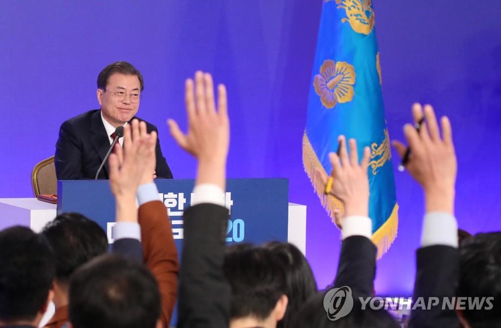 简讯:文在寅表示韩朝扩大合作可赢得国际社会支持