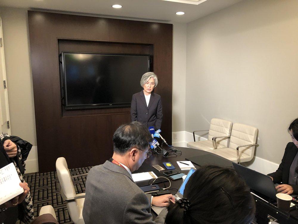 详讯:韩外长表示韩朝和朝美对话在特定时点不拘先后