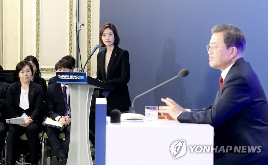 韩青瓦台发言人高旼廷辞职准备竞选国会议员