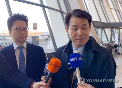 韩国防卫费谈判大使启程回国