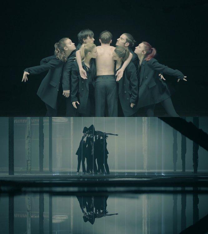 防弹少年团《Black Swan》艺术胶片 Big Hit娱乐供图(图片严禁转载复制)