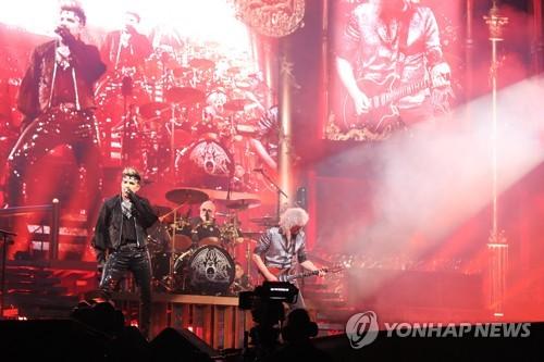 皇后乐队访韩开唱