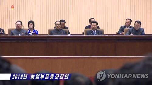 朝鲜举行2019农业大会
