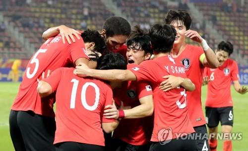 韩国男足挺进东京奥运