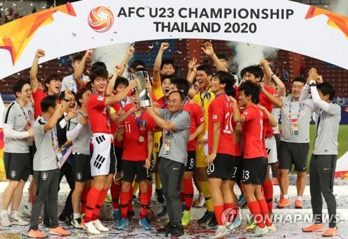 韩国首夺亚足联U23锦标赛冠军