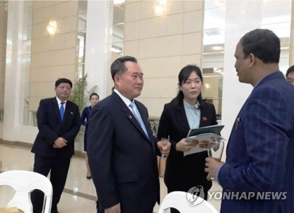 韩统一部评朝外务相谈话重申金与正阐明的立场