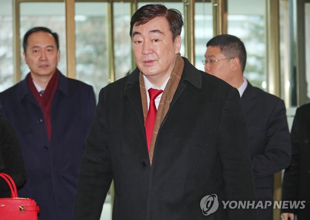 中国新任驻韩大使感谢韩国助力抗击新冠病毒疫情