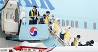 韩国今派第三架包机赴武汉撤侨