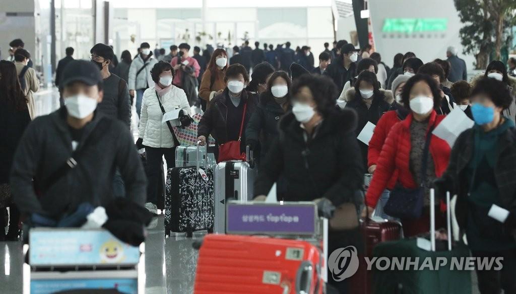 韩国四成赴华航线受新冠疫情影响停飞