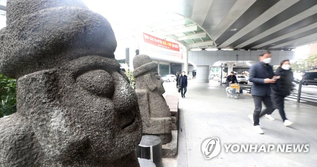 资料图片:济州机场 韩联社