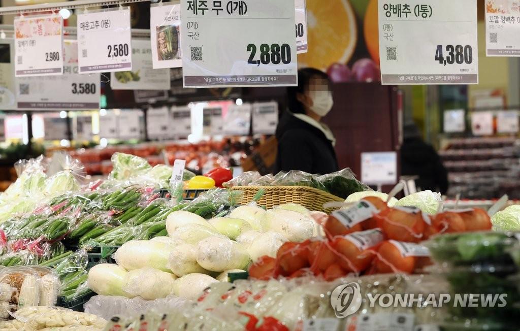 简讯:韩国2月CPI同比上涨1.1%