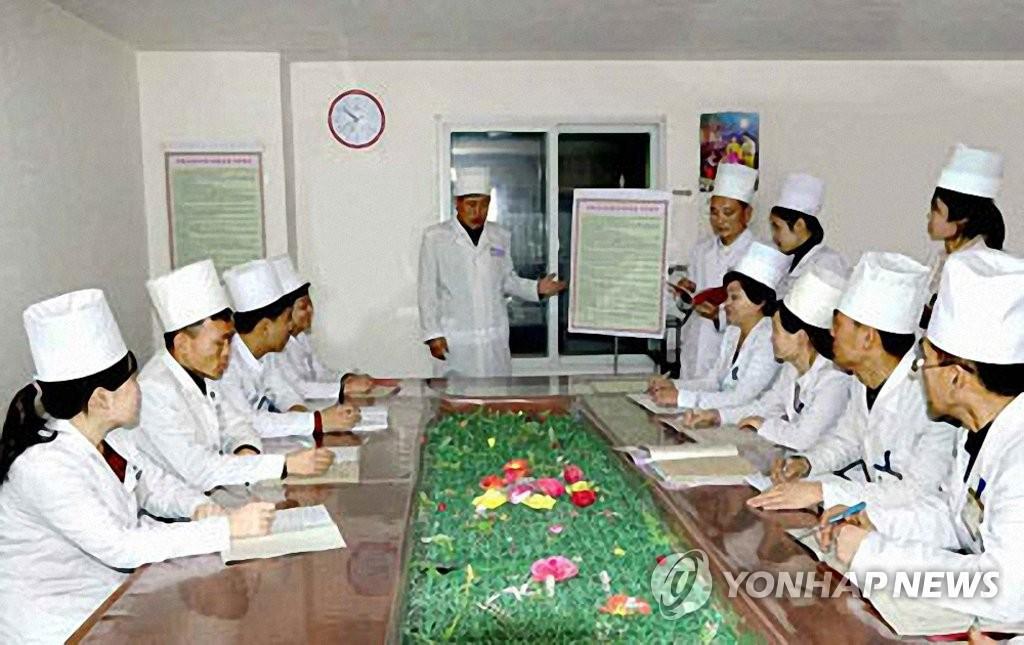 朝鲜检测水质预防新冠病毒从中国流入