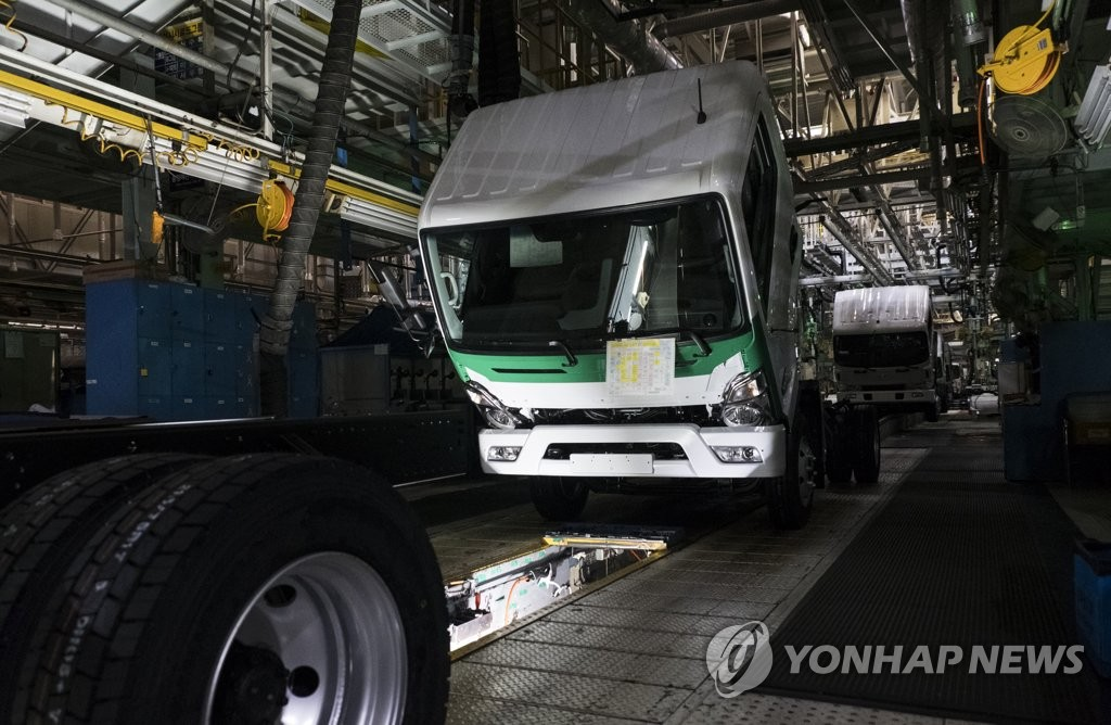 现代汽车韩国工厂明部分复工