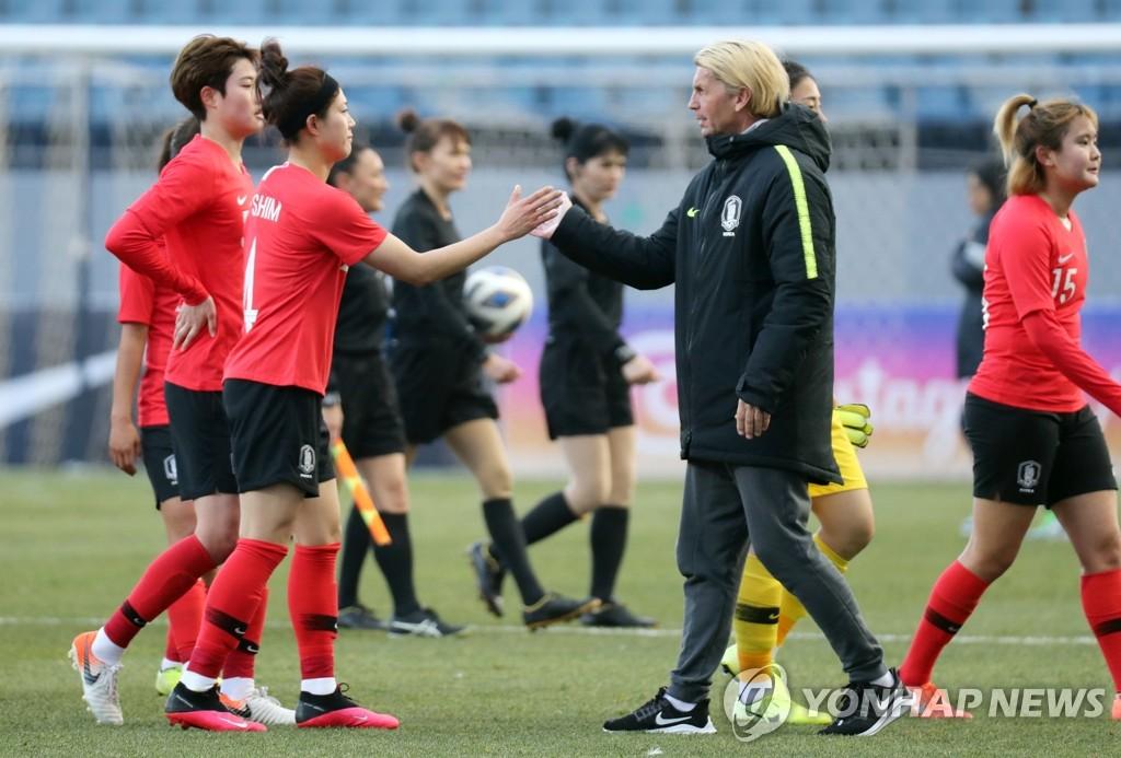 韩中女足奥预赛两场比赛推迟至6月