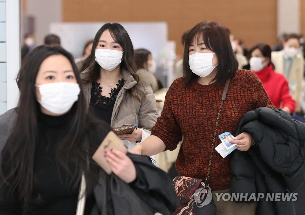 从武汉入境韩国人员新冠病毒潜伏期结束