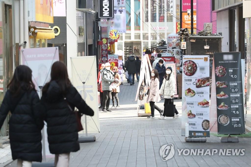 韩国线上消费因新冠疫情大增45%
