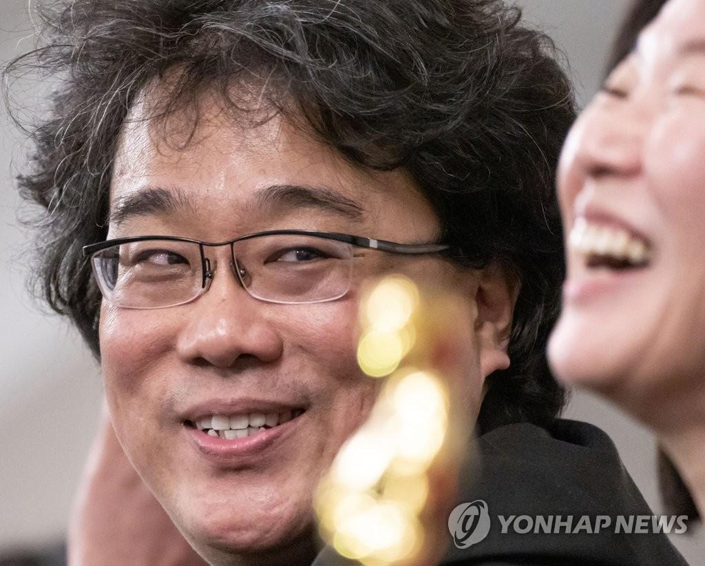资料图片:奉俊昊 韩联社