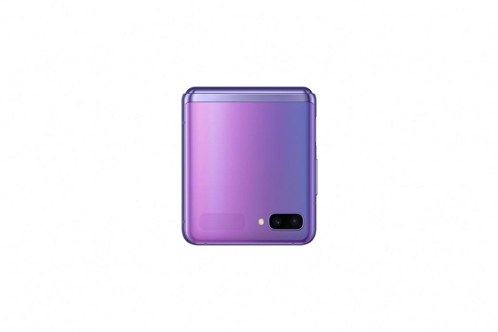 资料图片:三星电子Galaxy Z Flip折叠屏手机 韩联社/三星电子供图(图片严禁转载复制)
