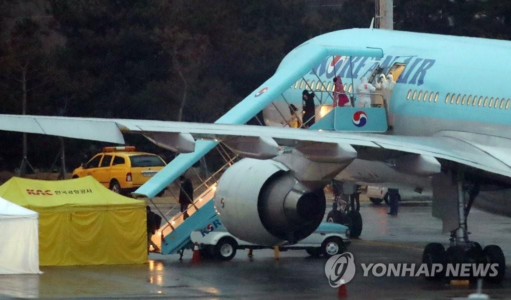 详讯:韩政府将派两架包机赴意大利撤侨