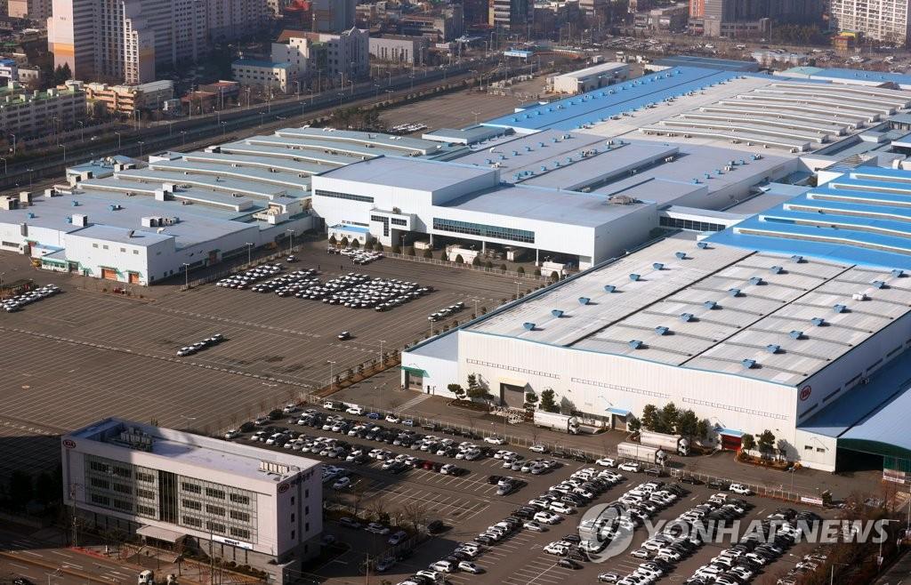 起亚汽车光州第二工厂复工