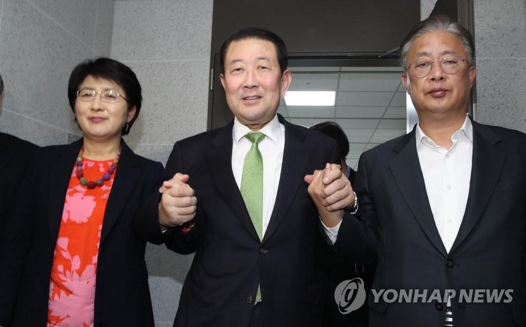 """韩国国会议员选举形成""""五党分羹""""格局"""