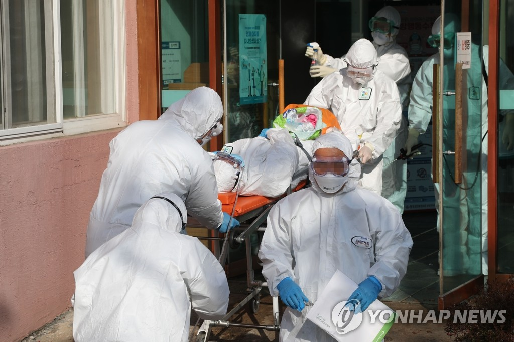 韩防疫部门:有2例新冠患者病情危重