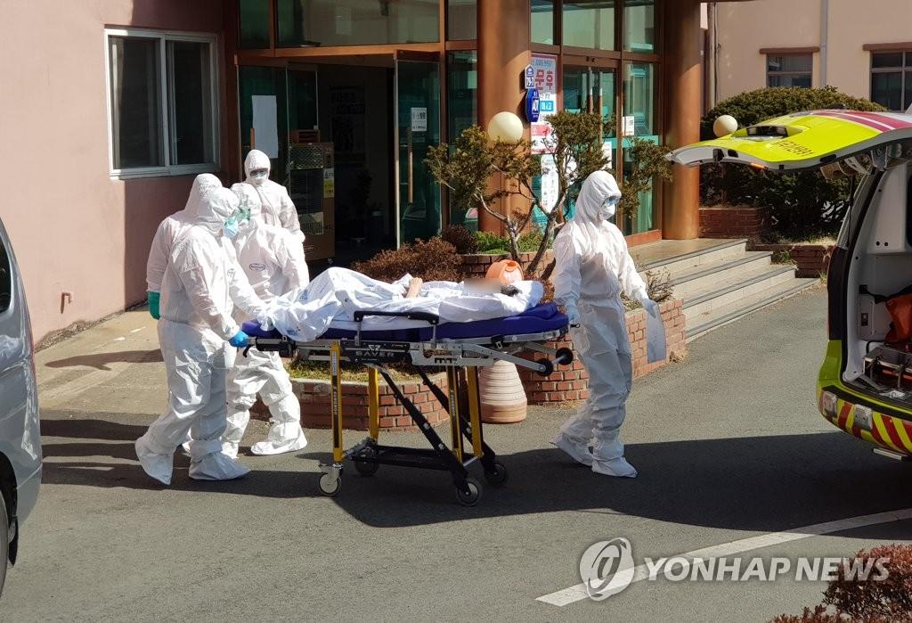 韩庆北大南医院死亡病例渐增 25例转院救治