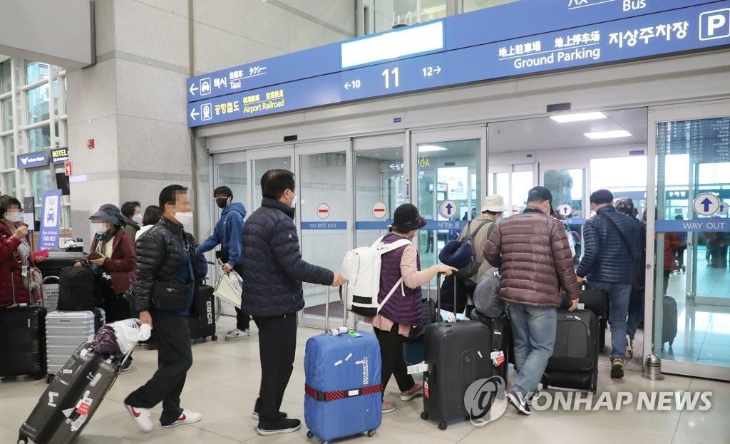 韩国至港台航线因新冠疫情影响停飞