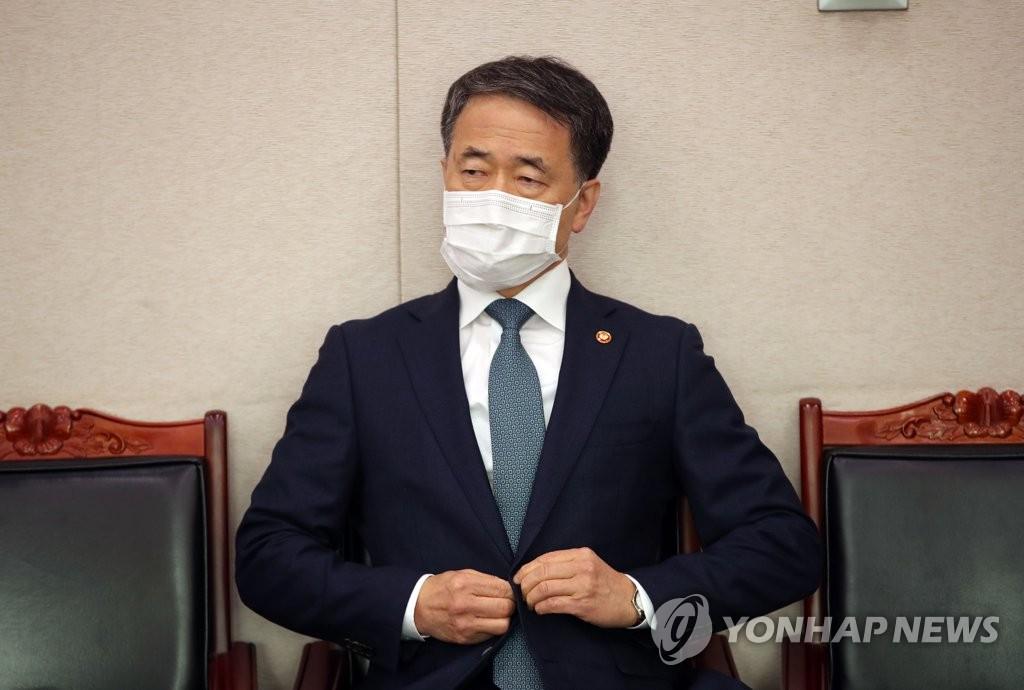 韩福祉部长官澄清涉新冠疫情言论