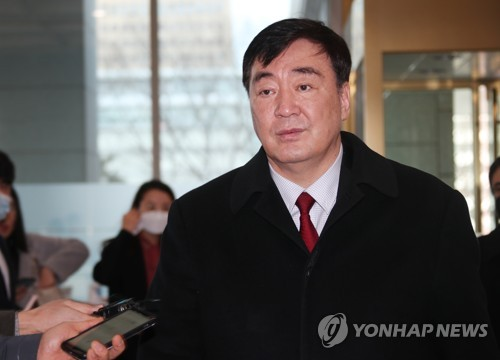 中国大使访问韩国外交部