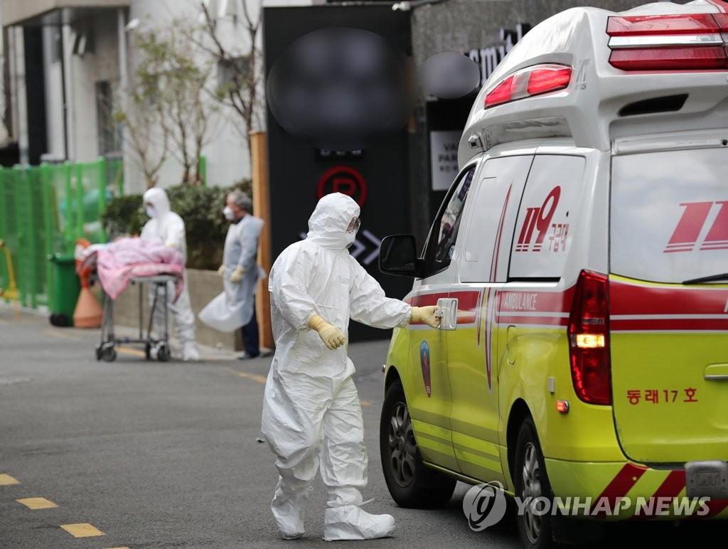 详讯:韩国感染新冠病毒确诊病例1261例 死亡12例