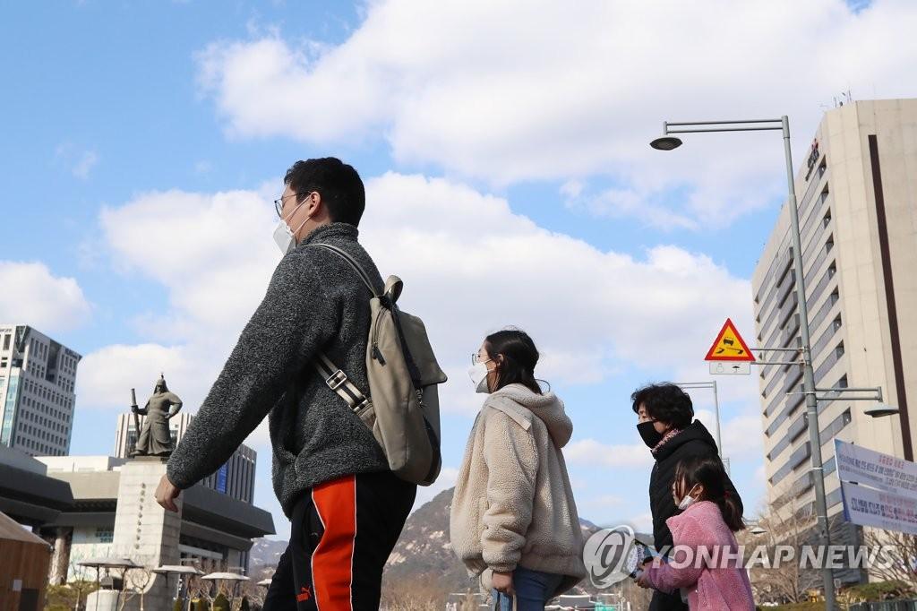 韩国今冬细粒浓度同比降16%