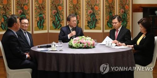 文在寅:扩大自华入境限制范围对韩方无益