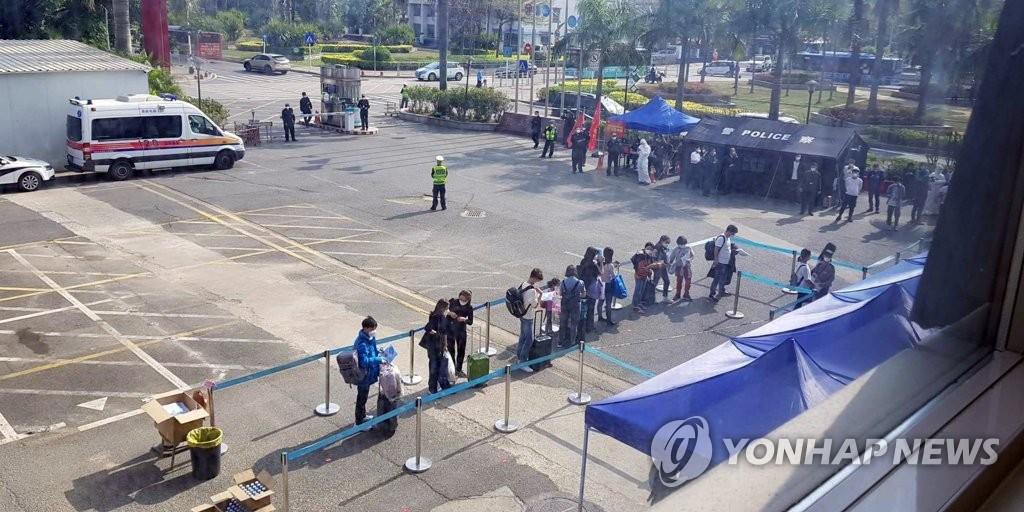 韩国考虑派应急工作组保护境外被隔离公民