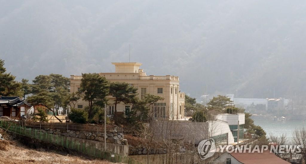 """图为位于京畿道加平郡的""""和平宫殿""""。韩联社"""