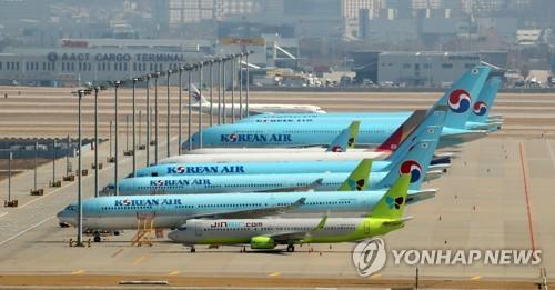 中国严防疫情入境 韩中航线大幅调减