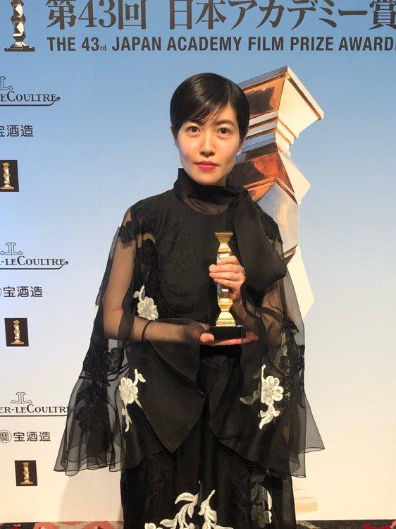 沈恩敬获日本电影学院奖影后:就像做梦一样