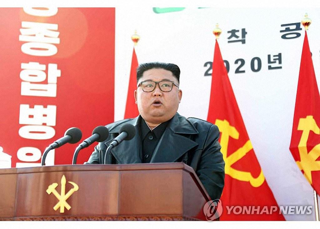 《劳动新闻》3月18日报道称,朝鲜国务委员会委员长金正恩17日出席平壤综合医院动工仪式并发表讲话。 韩联社/《劳动新闻》官网截图(图片仅限韩国国内使用,严禁转载复制)