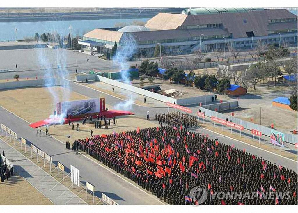 金正恩出席平壤综合医院动工仪式