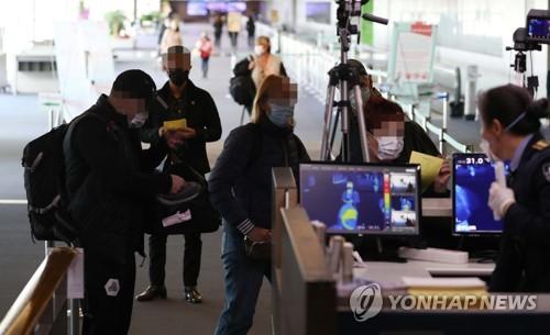 韩防疫部门:自欧入境有症状者中确诊者占5%