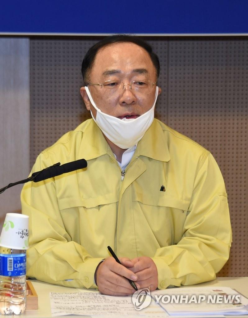 韩财长:美国等多国要求提供新冠检测试剂