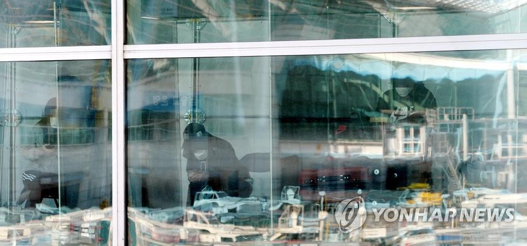 自欧入韩旅客全员受检首日测出19人感染新冠