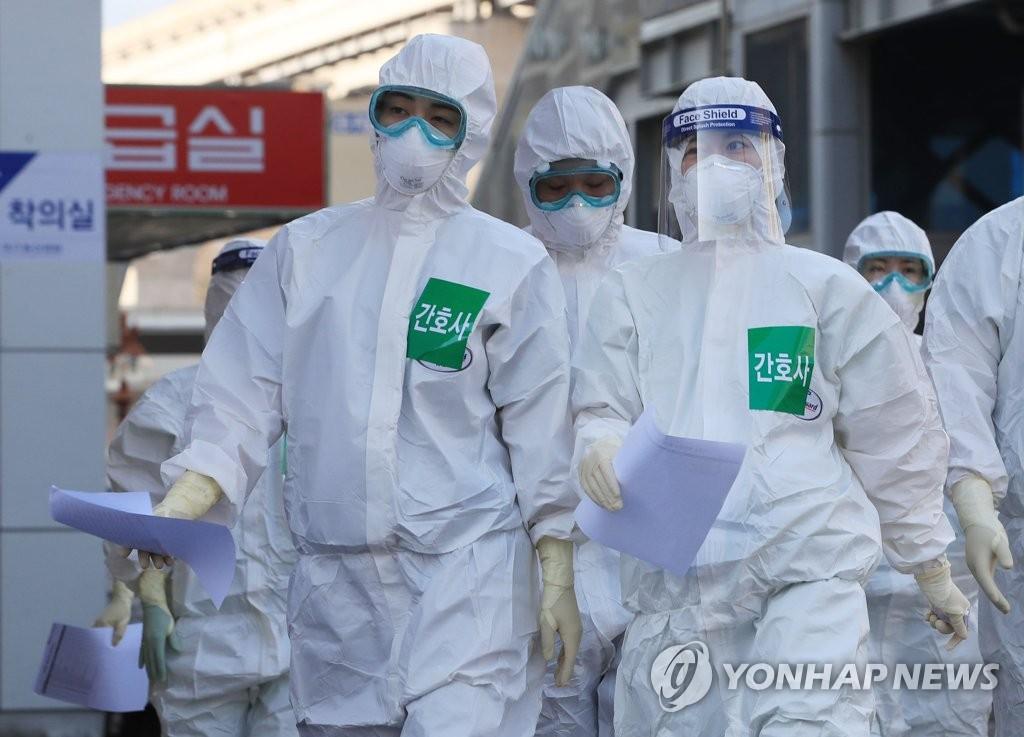 简讯:韩国新增100例新冠确诊病例 累计9137例